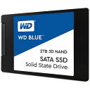 WESTERN DIGITAL ウェスタン デジタル WDS200T2B0A 内蔵SSD WD BLUE 3D NAND SATA SSD [2.5インチ /2TB]