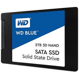 WESTERN DIGITAL ウェスタン デジタル WDS200T2B0A 内蔵SSD WD BLUE 3D NAND SATA SSD [2.5インチ /2TB]【バルク品】