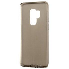 レイアウト rayout Galaxy S9+用 TPUソフトケース コネクタキャップ付き RT-GS9PTC10/BM ブラック