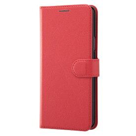 レイアウト rayout Galaxy S9+用 手帳型ケース シンプル マグネット RT-GS9PELC1/R レッド