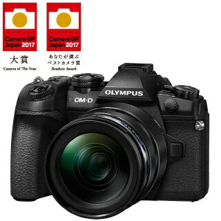 【送料無料】 オリンパス OM-D E-M1 Mark II【12-40mm F2.8 レンズキット】(ブラック)/ミラーレス一眼カメラ
