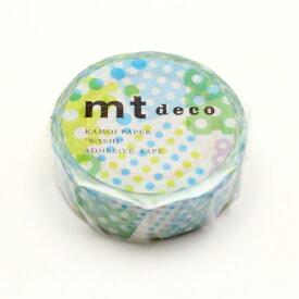 カモ井加工紙 KAMOI MT01D423 ネガポジドット・ブルー MT01D423