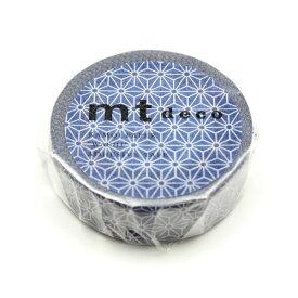 カモ井加工紙 KAMOI MT01D424 麻の葉・紺瑠璃(こんるり) MT01D424