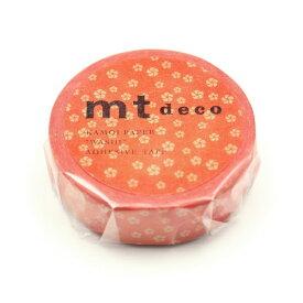 カモ井加工紙 KAMOI MT01D429 ねじり梅・赤橙(あかだいだい) MT01D429