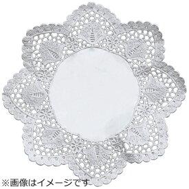 廣川エスベックス ドイリー 銀丸型レースペーパー (100枚入) 7号 <XLC2203>[XLC2203]