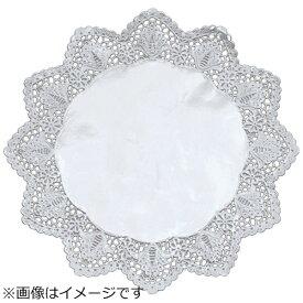 廣川エスベックス ドイリー 銀丸型レースペーパー (100枚入) 9号 <XLC2205>[XLC2205]