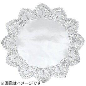 稲葉紙工 ドイリー 銀丸型レースペーパー (100枚入) 13号 <XLC2209>[XLC2209]
