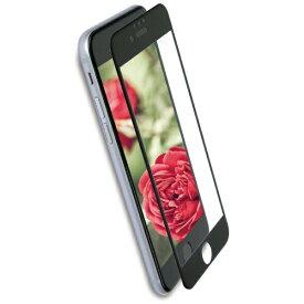 OWLTECH オウルテック iPhone 8 / 7 / 6s / 6用 さらさらな指ざわりでフチが欠けない 全面保護 強化ガラス アンチグレア OWL-GPIP7SF-AG OWL-GPIP7SF-BAG ブラック