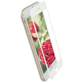 OWLTECH オウルテック iPhone 8 / 7 / 6s / 6用 さらさらな指ざわりでフチが欠けない 全面保護 強化ガラス アンチグレア OWL-GPIP7SF-AG OWL-GPIP7SF-WAG ホワイト