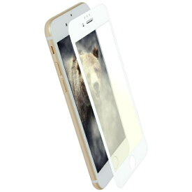 OWLTECH オウルテック iPhone 8 / 7 6s 6用 アンチグレア x ブルーライトカット 全面保護 耐衝撃ガラス OWL-GTIP7SF-WAB ホワイト