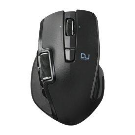 エレコム ELECOM マウス ブラック M-DWL01DBBK [BlueLED /無線(ワイヤレス) /6ボタン /USB]【rb_mouse_cpn】