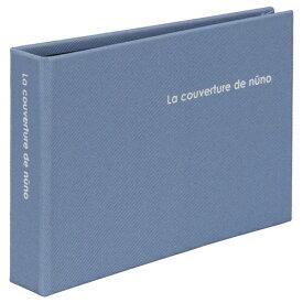 ハクバ HAKUBA nuno poche Lサイズ 40枚収納 ブルー ANN2-L40BL ブルー