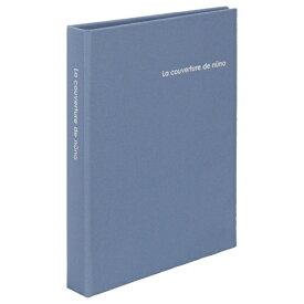 ハクバ HAKUBA nuno poche Lサイズ 80枚収納 ブルー ANN2-L80BL ブルー