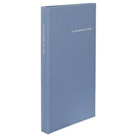 ハクバ HAKUBA nuno poche Lサイズ 120枚収納 ブルー ANN2-L120BL ブルー