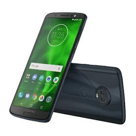 モトローラ Motorola Moto G6 ディープインディゴ 「PAAG0028JP」Snapdragon450 5.7型・メモリ/ストレージ:3GB/32GB  nanoSIMx2 DSDS対応 SIMフリースマートフォン[スマホ 本体 新品 PAAG0028JP]
