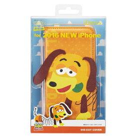 サンクレスト SUNCREST iPhone7 (4.7) ダイカットカバー ディズニー スリンキードッグ 手帳型ケース