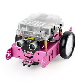 Makeblock Japan メイクブロック 〔ロボットキット:iOS/Android対応〕 mBot V1.1-Pink(Bluetooth Version) 99095[90107]