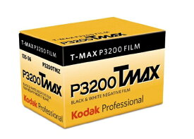 コダック Kodak KODAK PROFESSIONAL T-MAX P3200 135-36 パンクロ白黒フィルム