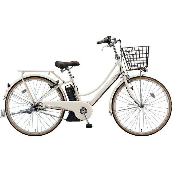 ブリヂストン BRIDGESTONE 26型 電動アシスト自転車 アシスタプリマ(E.Xミルクティーベージュ/内装3段変速)A6PC18【2019年モデル】【組立商品につき返品不可】 【代金引換配送不可】