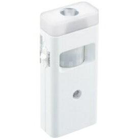 ツインバード TWINBIRD 停電センサーLEDサーチライト/赤外線センサー付 LS-8559W ホワイト