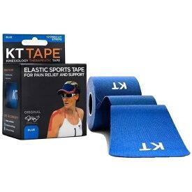 KT TAPE ケーティーテープ キネシオロジーテープ KT TAPE COTTON ロールタイプ(ブルー/テープサイズ:5cm×25cm・12枚入り)KTC980BL