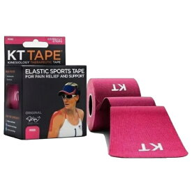 KT TAPE ケーティーテープ キネシオロジーテープ KT TAPE COTTON ロールタイプ(ピンク/テープサイズ:5cm×25cm・12枚入り)KTC980PK