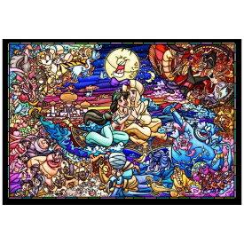 テンヨー ジグソーパズル DSG-500-474 アラジン ストーリー ステンドグラス