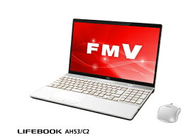 富士通 FUJITSU FMVA53C2W ノートパソコン LIFEBOOK(ライフブック) プレミアムホワイト [15.6型 /intel Core i7 /HDD:1TB /メモリ:8GB /2018年7月モデル][15.6インチ FMVA53C2W]