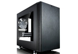 FRACTAL DESIGN フラクタルデザイン Define Nano S - Black - Window version FD-CA-DEF-NANO-S-BK-W