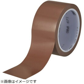 3Mジャパン スリーエムジャパン 高機能ラインテープ 471 茶 50mmX32.9m 個装