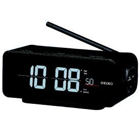 セイコー SEIKO 目覚まし時計 【シリーズC3】 黒 DL213K [デジタル /電波自動受信機能有][DL213K]