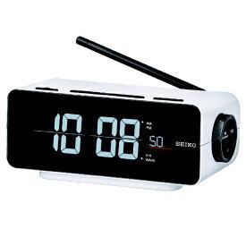 セイコー SEIKO 目覚まし時計 【シリーズC3】 白 DL213W [デジタル /電波自動受信機能有]