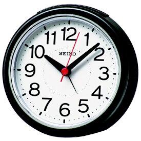 セイコー SEIKO 目覚まし時計 【スタンダード】 黒メタリック KR334K [アナログ /電波自動受信機能有]