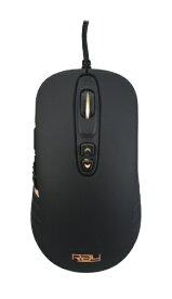 RAY レイ RM-3360 ゲーミングマウス RAY ブラック [光学式 /7ボタン /USB /有線][RM3360]