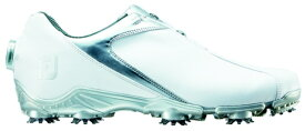 フットジョイ FootJoy 25.5cm/靴幅:3E メンズ ゴルフシューズ FJ SPORT Boa(White×Silver) #53142