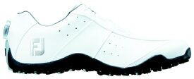 フットジョイ FootJoy 27.5cm/靴幅:3E メンズ スパイクレス ゴルフシューズ EXL Spikeless Boa(White) #45180