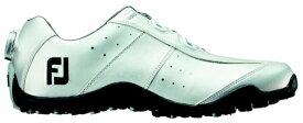 フットジョイ FootJoy 26.5cm/靴幅:3E メンズ スパイクレス ゴルフシューズ EXL Spikeless Boa(Silver) #45182