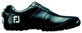 フットジョイ FootJoy 24.5cm/靴幅:3E メンズ スパイクレス ゴルフシューズ EXL Spikeless Boa(Black) #45184