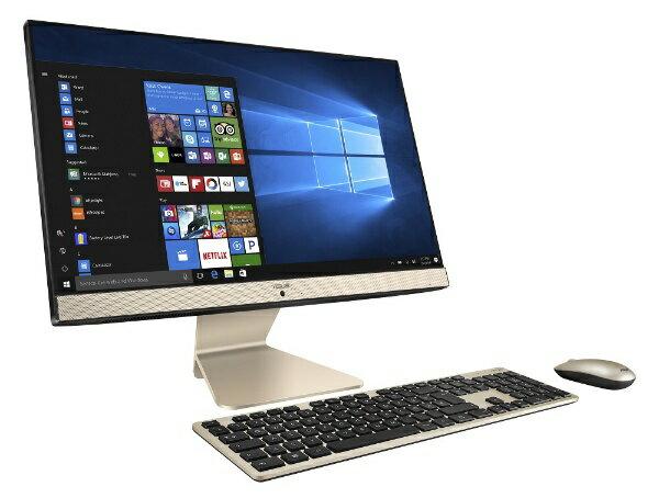 ASUS エイスース V222UBK-I5MX110 デスクトップパソコン Vivo AiO ブラック [21.5型 /HDD:1TB /SSD:128GB /メモリ:8GB /2018年7月][V222UBKI5MX110]