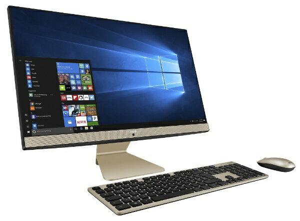 ASUS エイスース V241ICUK-I5HB2016 デスクトップパソコン Vivo AiO ブラック [23.8型 /HDD:1TB /メモリ:8GB][V241ICUKI5HB2016]