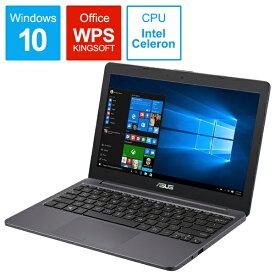 ASUS エイスース E203MA-4000G ノートパソコン スターグレー [11.6型 /intel Celeron /eMMC:64GB /メモリ:4GB /2018年6月モデル][11.6インチ 新品 E203MA4000G]
