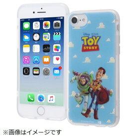 イングレム Ingrem iPhone SE(第2世代)4.7インチ/ iPhone8/7/6s/6 TPUソフトケース レイヤーアート IN-DP7S6HL/WB
