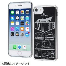 イングレム Ingrem iPhone SE(第2世代)4.7インチ/ iPhone8/7/6s/6(4.7)TPUソフトケース メタリック バットモービル IN-WP7S6HT/BMB