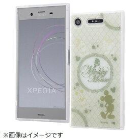 イングレム Ingrem Xperia XZ1 TPUソフトケース メタルドローイング ミッキー IN-RDXZ1HM/MK