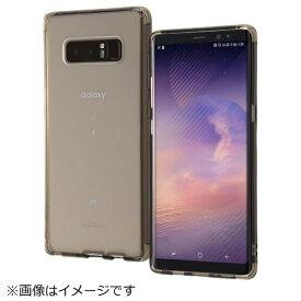 イングレム Ingrem Galaxy Note8 ハイブリッドケース 衝撃吸収 6Hコート ブラック IN-GN8CC8/BM