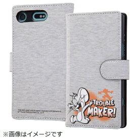 イングレム Ingrem Xperia XZ1 Compact手帳型ケース トムジェリ51 IN-RWXZ1CMLC2/TJ051