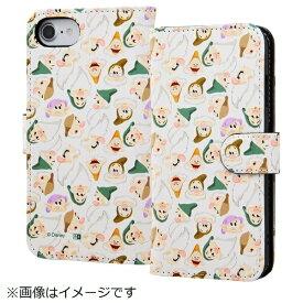 イングレム Ingrem iPhone SE(第2世代)4.7インチ/ iPhone8/7/6s/6(4.7)手帳型ケース 白雪姫14 IN-DP7S6MLC2/SW014