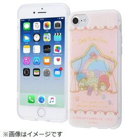 イングレム Ingrem iPhone SE(第2世代)4.7インチ/ iPhone8/7/6s/6(4.7)TPUソフトケース レイヤーアート IN-SRP7S6HL/LT