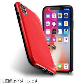 イングレム Ingrem iPhoneX カラップ レッド IN-P8CP1/R