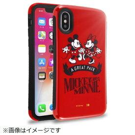 イングレム Ingrem iPhoneX アンドカバー ミッキー&ミニー IN-DP8AC1/MM